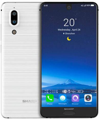 Смартфон ORIGINAL Sharp FS8010 Aquos S2 White (8Х2.2Ghz; 4Gb/64Gb; 12МР+8.0MP/8МР; 3020 mAh)