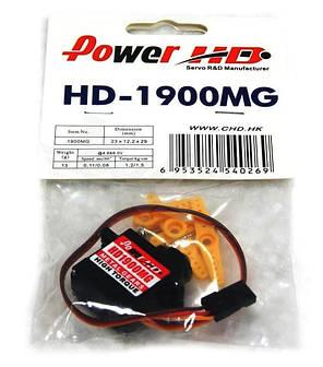Сервопривод микро 14г Power HD 1900MG 1.2кг/0.11сек, фото 2