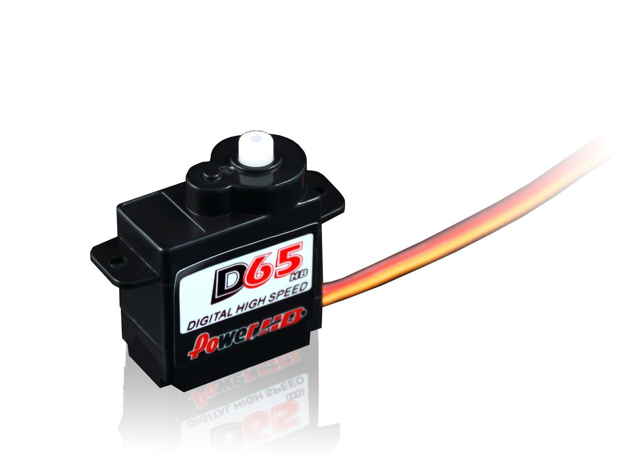 Сервопривод микро 6.5г Power HD DS65HB 1.3кг/0.09сек цифровой