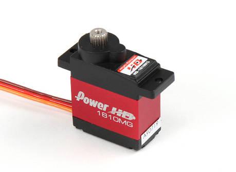 Сервопривод микро 16г Power HD 1810MG 3.1кг/0.16сек цифровой, фото 2