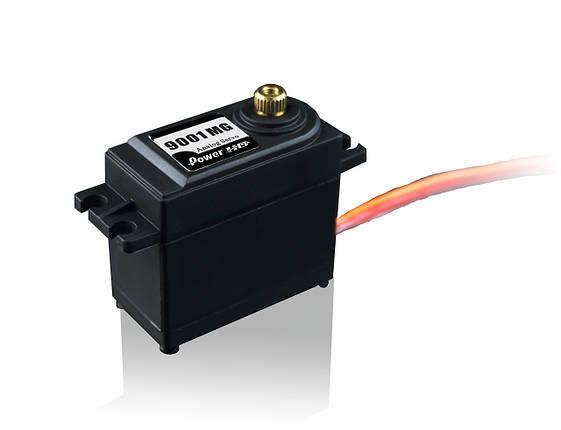 Сервопривод стандарт 56г Power HD 9001MG 8.6кг/0.16сек, фото 2