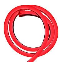 Cветодиодный неон гибкий 220В (120LED/м) IP67 Красный