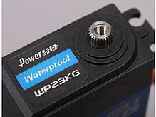 Сервопривод стандарт 75г Power HD WP23KG 23кг/0.12сек цифровой с влагозащитой, фото 2