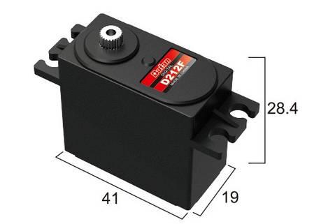 Сервопривод стандарт 46г BATAN D212F 10.0кг/0.06сек металл цифровой, фото 2