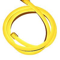 Cветодиодный неон гибкий 220В (120LED/м) IP67 желтый