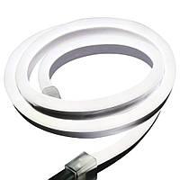 Cветодиодный неон гибкий 220В (120LED/м) IP67 Белый нейтральный