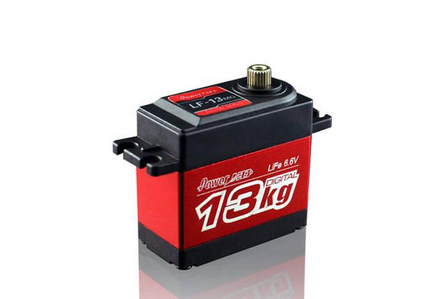 Сервопривод стандарт 60г Power HD LF13MG 10.5кг/0.15сек цифровой, фото 2