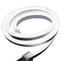 Cветодиодный неон гибкий 220В (120LED/м) IP67 Белый теплый