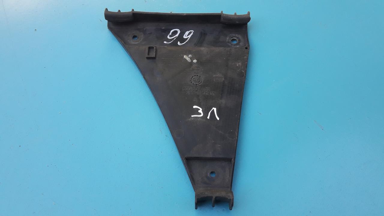 Крепление направляющее заднего бампера левое ауди а4 б5 audi a4 b5 8D0807483