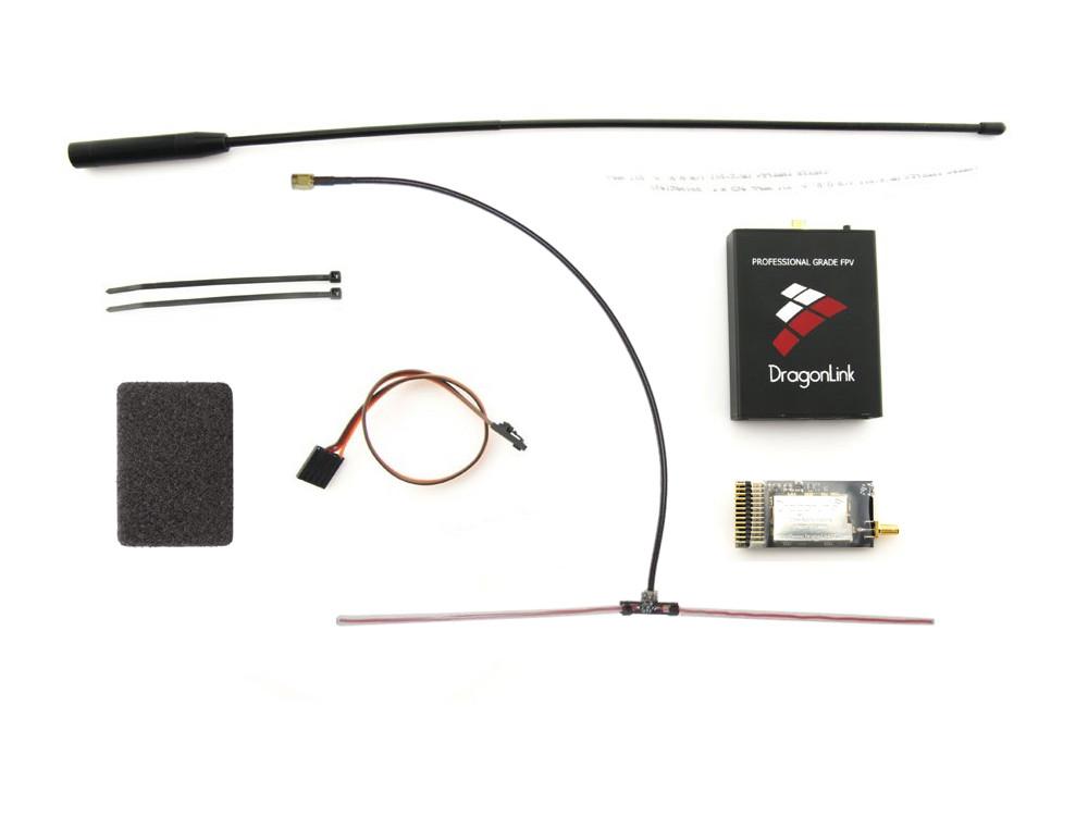 Комплект LRS Dragon Link V3 Slim 433MHz 1500mW 12к с усиленным приёмником