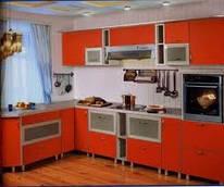 Кухня недорогая с МДФ фасадами