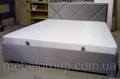 Ліжко Альфа 160*200 з матрацом