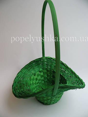 Корзинка-капелюх  світло-зелена