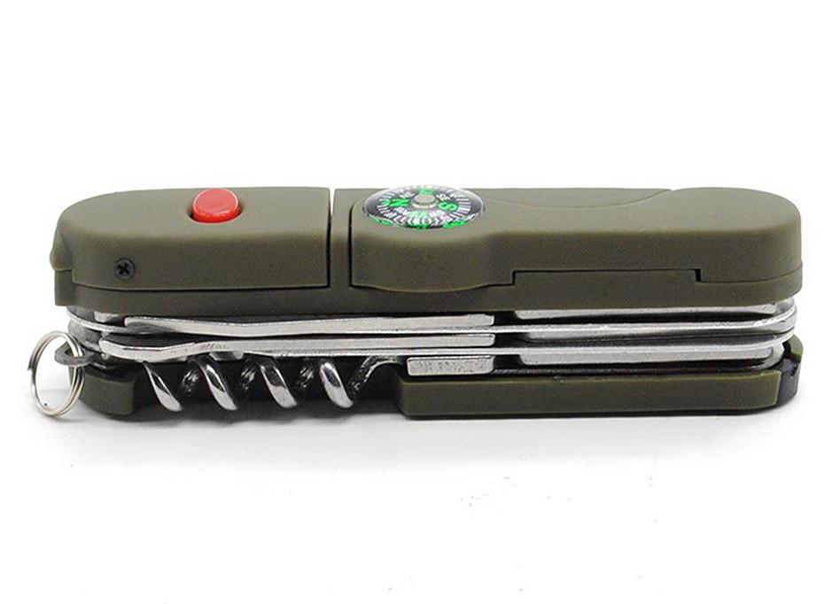 Функциональный военный нож мультитул 13 функций