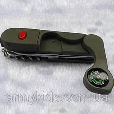 Функциональный военный нож мультитул 13 функций, фото 3