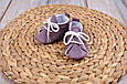 Пінетки бавовняні, фіолетові, фото 2