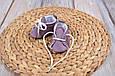 Пінетки бавовняні, фіолетові, фото 3