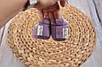 Пінетки бавовняні, фіолетові, фото 4