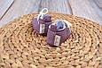 Пінетки бавовняні, фіолетові, фото 5