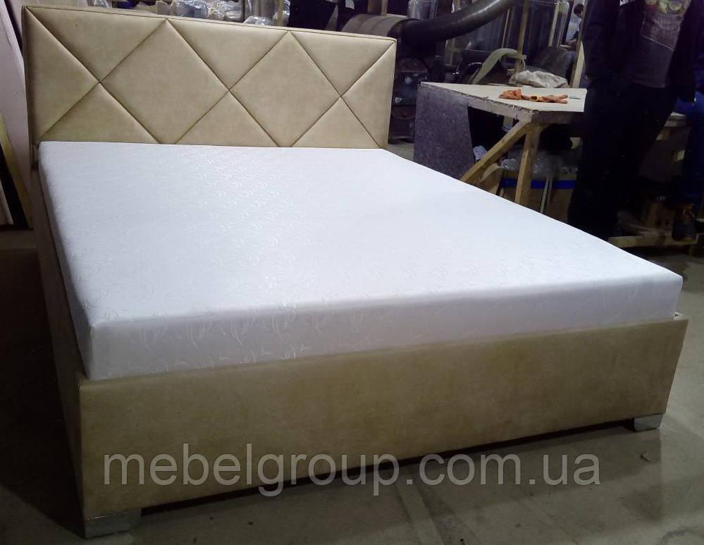 Ліжко Альфа 180*200 з матрацом
