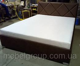 Ліжко Альфа 180*200 з матрацом, фото 2