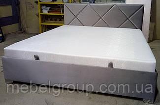 Ліжко Альфа 180*200 з матрацом, фото 3