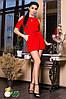 Женское платье со стильными вырезами, в расцветках. МЛ-1-0618