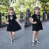 """Детское платье с декором """"CUCCI"""", в расцветках. МО-1-0618, фото 5"""