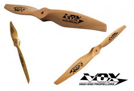 Пропеллер VOX 12x4 Electric деревянный для самолетов, фото 2