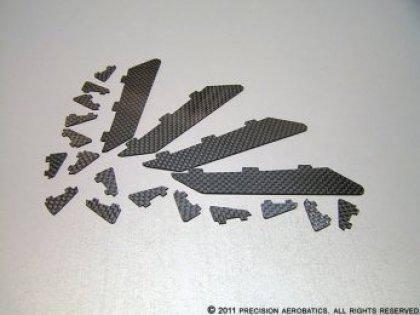 Завихрители PA Addiction X карбоновые комплект 20шт, фото 2