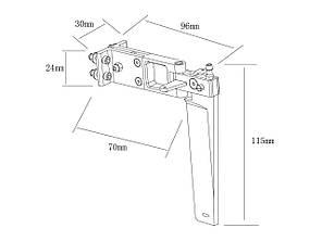 Руль направления 96x115мм для TFL Genesis 1122-2A, фото 2