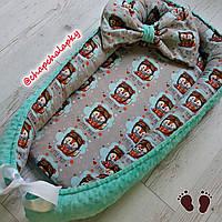 Кокон для новорожденных Гніздечко для немовлят