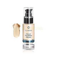 Тональный крем-флюид для чувствительной кожи Clarena (Кларена) Mineral Foundation 30 мл Alabaster (алебастровый - светлый)