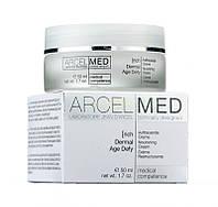 Крем дермальный антивозрастной питательный от морщин для сухой кожи Dermal Age Defy rich ArcelMed Jean d`Arcel (Жан ДАрсель) 50 мл