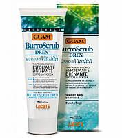 Масло-пилинг с дренажным эффектом Guam (Гуам) Burro Scrub Dren 200 мл