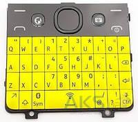 Клавиатура (кнопки) Nokia 210 Asha Yellow