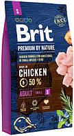 170810 Brit Premium Adult S, 3 кг