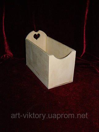 Чайный короб одинарный (8 х 17 х 12 см), фото 2