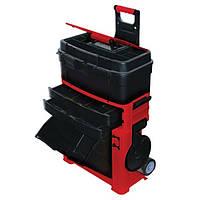 Тележка для инструмента с катушкой для провода 480*315*820 мм. Intertool BX-3019