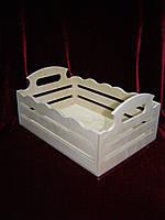 Короб с прорезями (27,5 х 18,5 х 12,5 см)