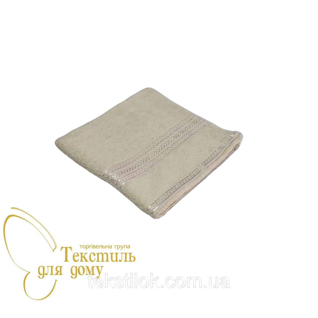Полотенце для рук бежевое 50*70, 360 гр/м2