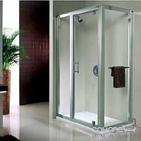 Душевые кабины, двери и шторки для ванн Kolo Расширяющая панель с витражом Kolo Geo 6 82 GSKP80222003 глянцевый хром, прозрачное