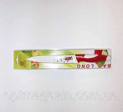 """Нож кухонный универсальный. Нож метало- керамика 7"""", фото 2"""
