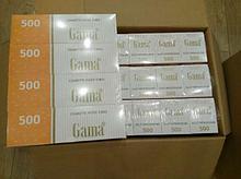 Гильзы для набивки сигарет Gama 10000 шт./ящик