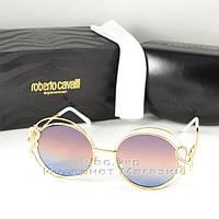 Солнцезащитные очки Roberto Cavalli  Carducci Круглые цветные сиреневые розовые голубые Кавалли реплика, фото 1