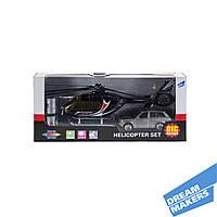 Набор игровой «Вертолет и машинка» BIG MOTORS