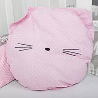 "Декоративная подушка для сна и декора ""Мяу"""
