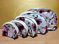 Набор косметичек различных размеров 5-в-1, расцветки могут отличаться.., фото 1