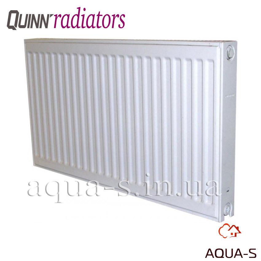 Радиатор стальной Quinn Quattro панельный боковой K11 600x2000 мм. (Бельгия) 2614 Вт. Q11620KD