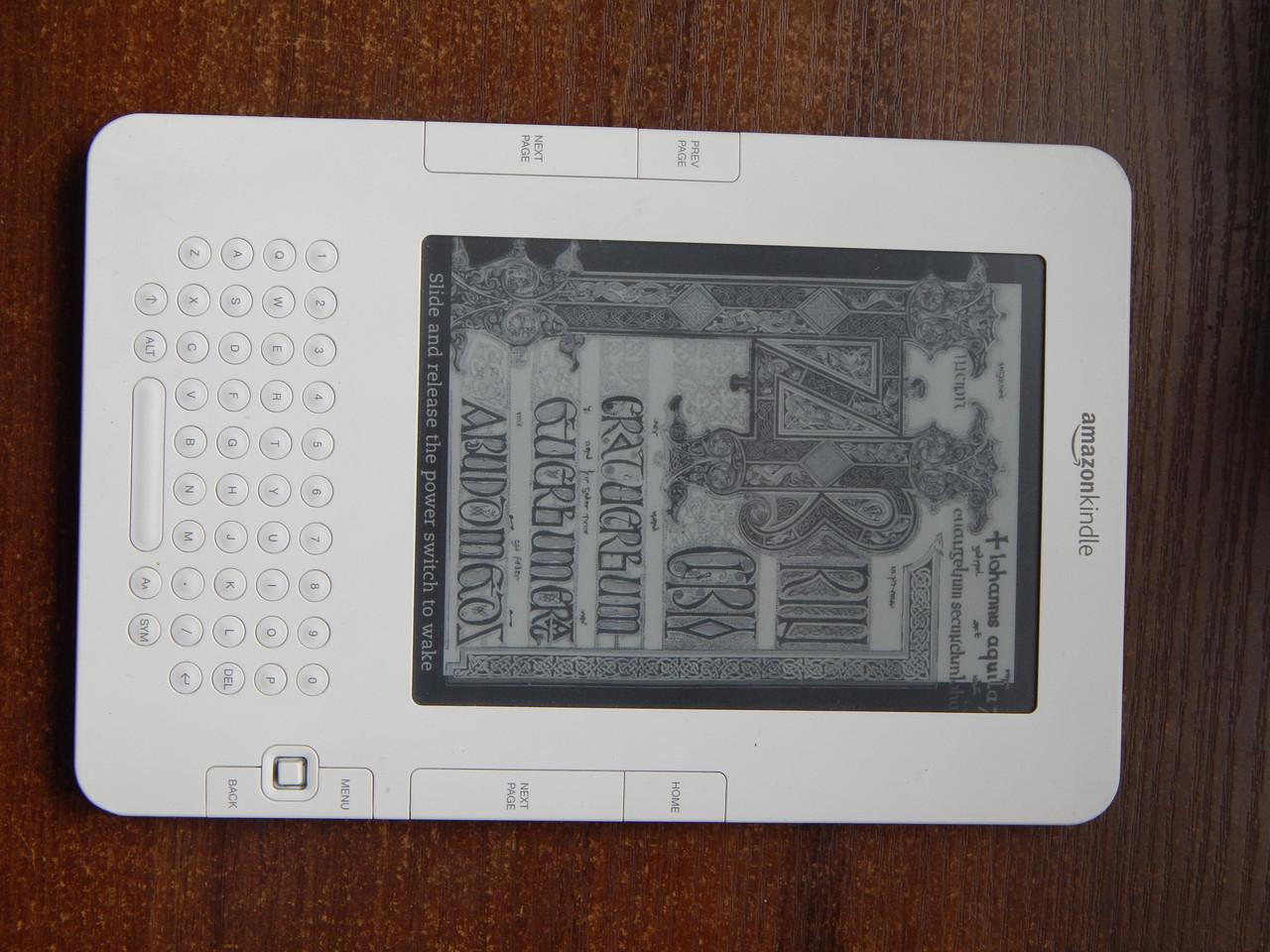 Электронная книга amazon kindle  keyboard 2nd Generation D00701